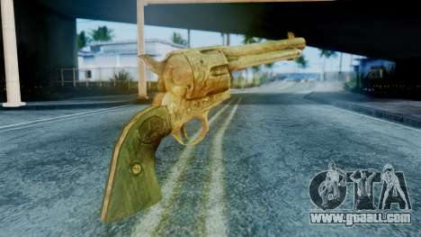 Red Dead Redemption Revolver Diego Assasin for GTA San Andreas second screenshot