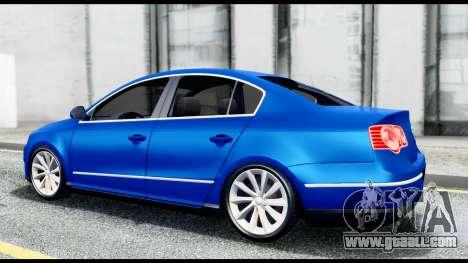 Volkswagen Passat B6 for GTA San Andreas right view