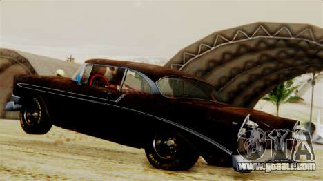 Chevrolet Bel Air 1956 Rat Rod Street for GTA San Andreas interior