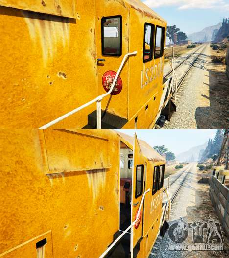 GTA 5 Engineer railway v3.1 fourth screenshot