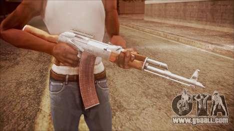 AK-47 v3 from Battlefield Hardline for GTA San Andreas third screenshot