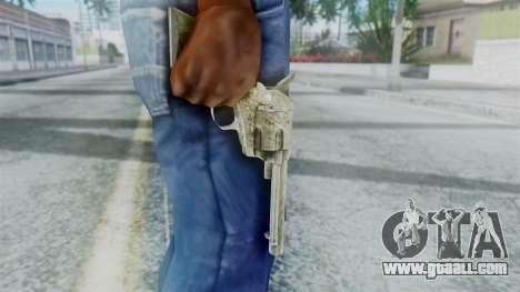 Red Dead Redemption Revolver Sergio for GTA San Andreas third screenshot