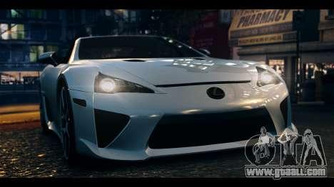 Lexus LF-A 2010 EPM for GTA 4