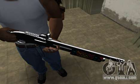 National Shotgun for GTA San Andreas