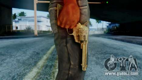 Red Dead Redemption Revolver Diego Assasin for GTA San Andreas third screenshot