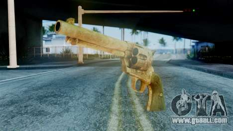 Red Dead Redemption Revolver Diego Assasin for GTA San Andreas