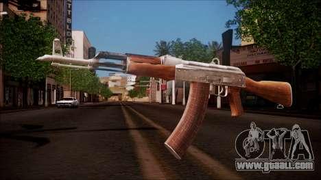 AK-47 v8 from Battlefield Hardline for GTA San Andreas