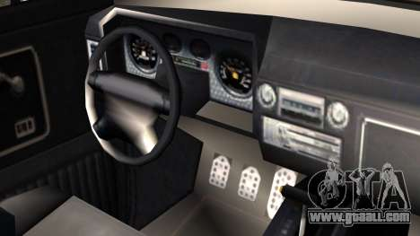 GTA 5 Vapid Slamvan Pickup IVF for GTA San Andreas right view