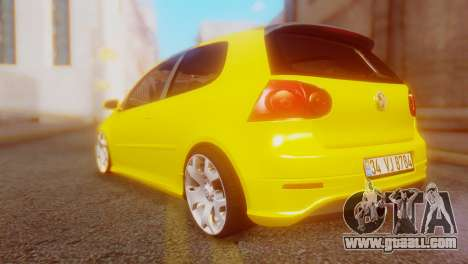 Volkswagen Golf R32 AirQuick for GTA San Andreas left view