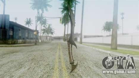 Deadric Dagger for GTA San Andreas second screenshot