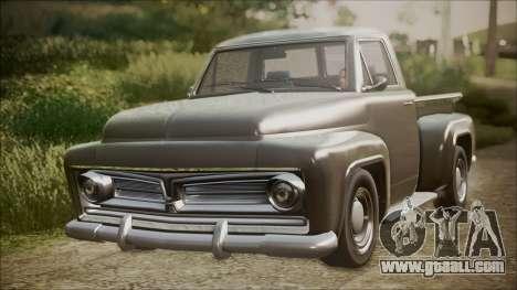 GTA 5 Vapid Slamvan Pickup IVF for GTA San Andreas
