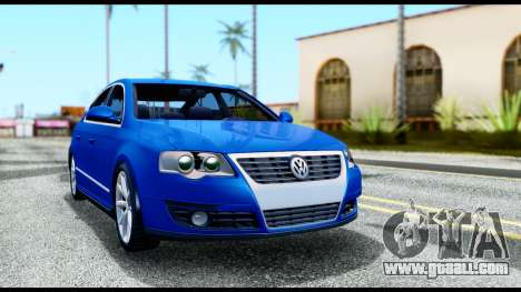 Volkswagen Passat B6 for GTA San Andreas left view