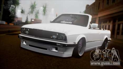 BMW E30 Cabrio B. O. Construction for GTA San Andreas back view