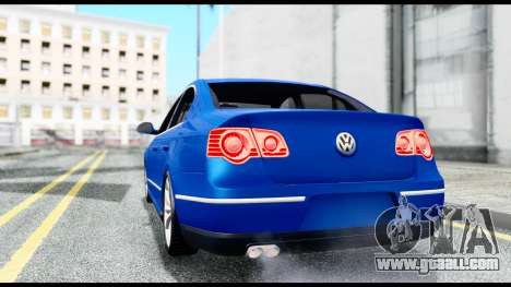 Volkswagen Passat B6 for GTA San Andreas back left view