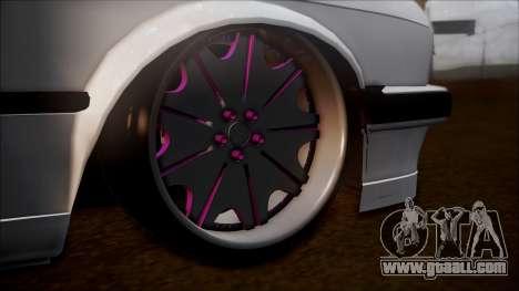 BMW E30 Cabrio B. O. Construction for GTA San Andreas back left view