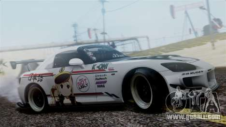 Honda S2000 Tuned Mugi Itasha for GTA San Andreas