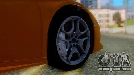 Lamborghini Huracan 2015 Horizon Wheels for GTA San Andreas back left view