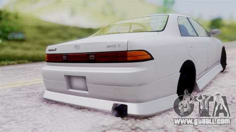 Toyota Mark 90 for GTA San Andreas left view