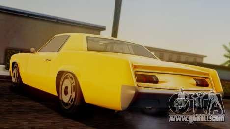GTA 5 Albany Virgo IVF for GTA San Andreas left view