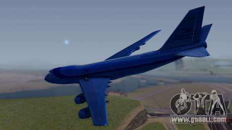 AT-400 Argentina Airlines for GTA San Andreas left view