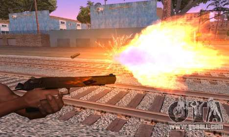 Deagle Flame for GTA San Andreas second screenshot