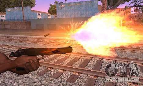 Deagle Flame for GTA San Andreas second screenshot