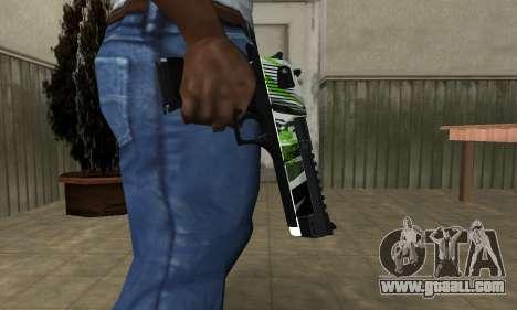 Ben Ten Deagle for GTA San Andreas