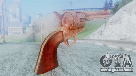 Red Dead Redemption Revolver Cattleman for GTA San Andreas second screenshot