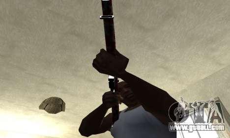 Snake Rifle for GTA San Andreas second screenshot