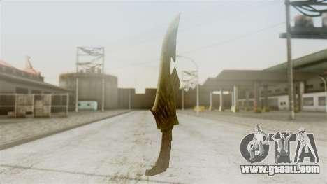 Elven Dagger for GTA San Andreas