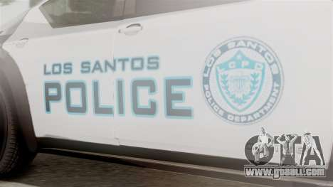 Hunter Citizen from Burnout Paradise Police LS for GTA San Andreas right view