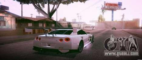 Brandals ENB v2 for GTA San Andreas