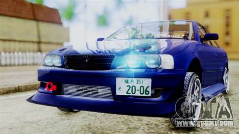 Toyota Chaser for GTA San Andreas left view