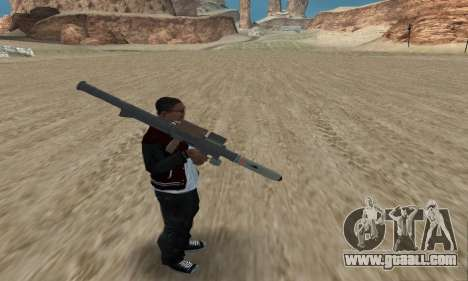 Homing Launcher from GTA 5 for GTA San Andreas