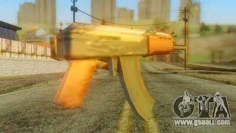 AKS-74U for GTA San Andreas second screenshot