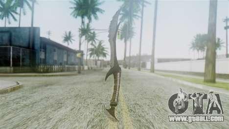 Deadric Dagger for GTA San Andreas