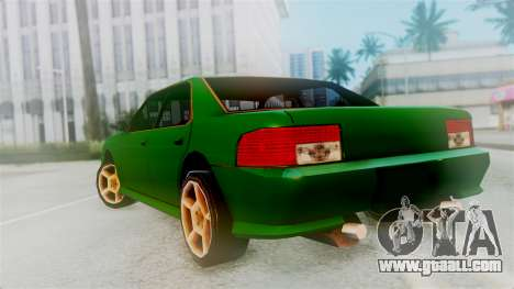 Sultan New Edition for GTA San Andreas left view