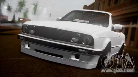 BMW E30 Cabrio B. O. Construction for GTA San Andreas
