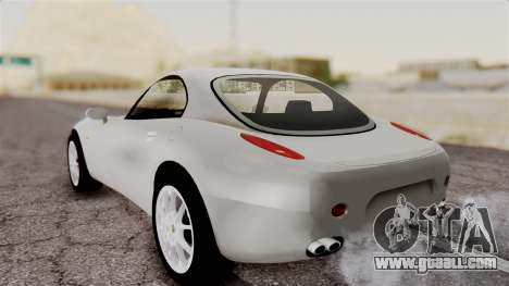 Alfa Romeo Nuvola for GTA San Andreas back left view
