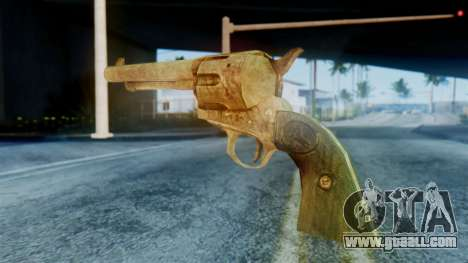 Red Dead Redemption Revolver for GTA San Andreas second screenshot