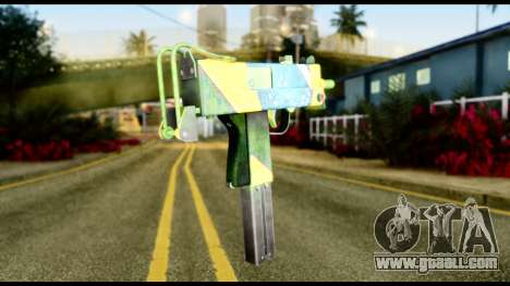 Brasileiro Micro Uzi for GTA San Andreas second screenshot