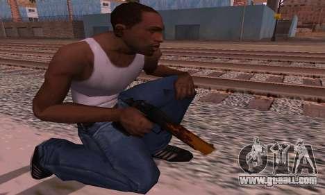 Deagle Flame for GTA San Andreas third screenshot