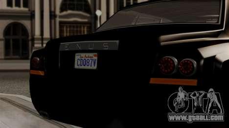 GTA 5 Enus Super Diamond for GTA San Andreas right view