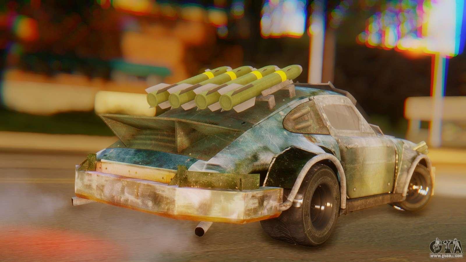 10 Passenger Vehicles >> Porsche 911 Death Race for GTA San Andreas