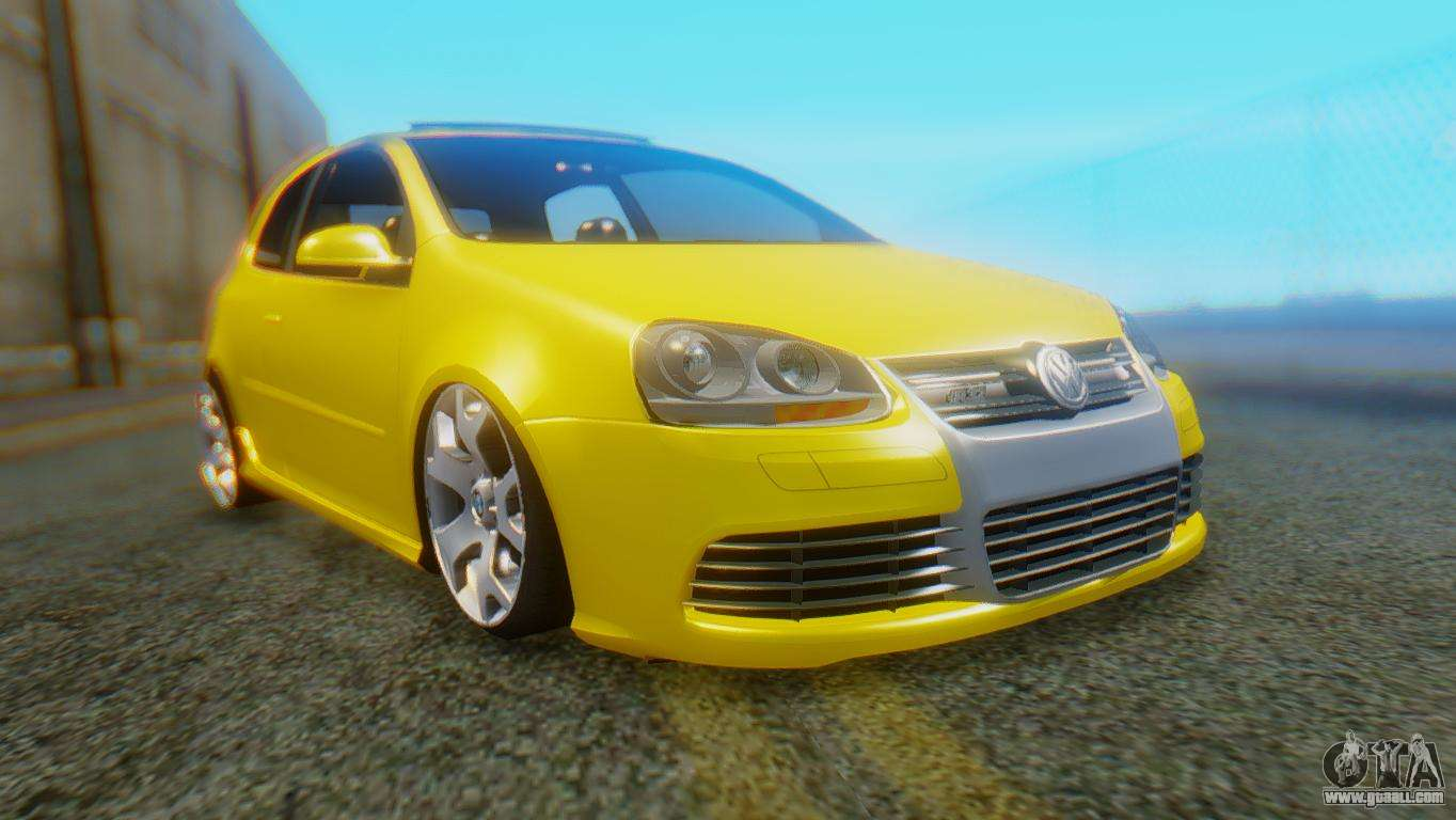 volkswagen golf r32 airquick for gta san andreas. Black Bedroom Furniture Sets. Home Design Ideas