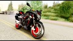 Kawasaki Z250SL Red for GTA San Andreas