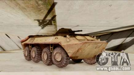 БТР-70 Rust from S.T.A.L.K.E.R. for GTA San Andreas