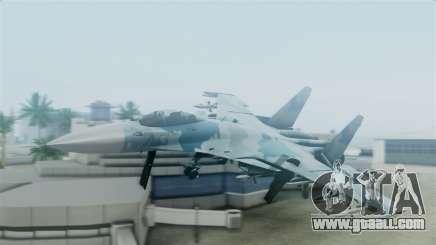 Sukhoi SU-33 Flanker-D for GTA San Andreas