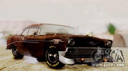 Chevrolet Bel Air 1956 Rat Rod Street for GTA San Andreas