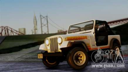 Jeep CJ-7 Renegade 1982 for GTA San Andreas